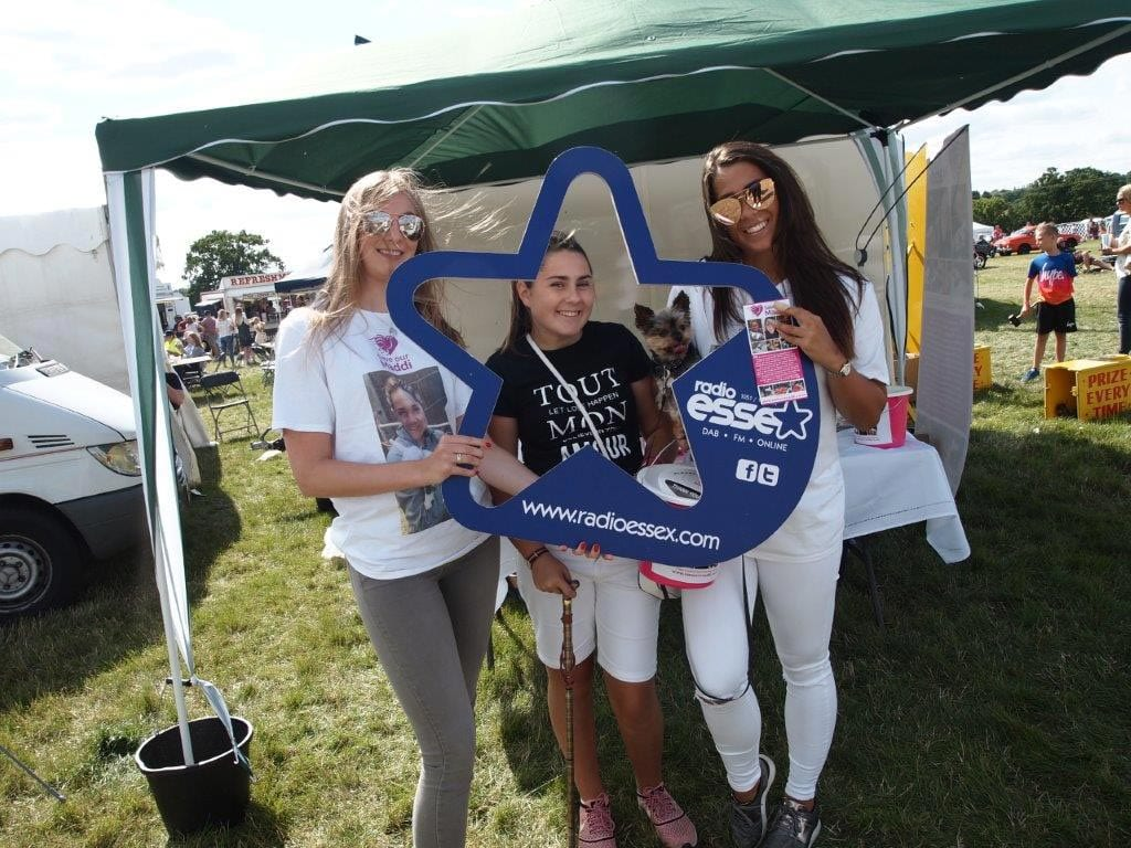 Raising awareness of SPG15 at Essex Motor Show we managed to raise over £700