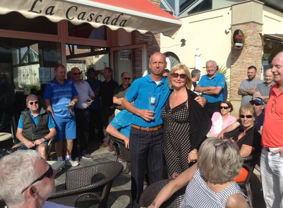 Golf Day fundraiser in Algorfa Spain