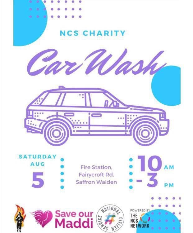 Car Wash day with children from Saffrn Walden