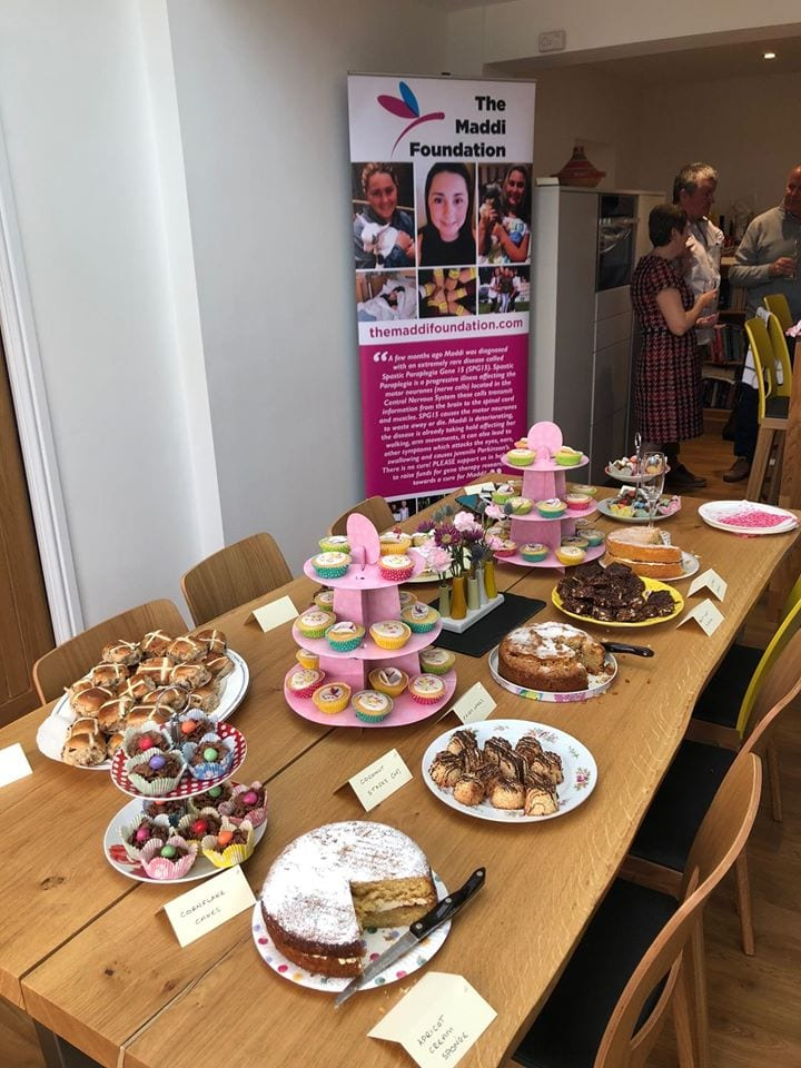 Cakes and Raffle afternoon with Clare Murray