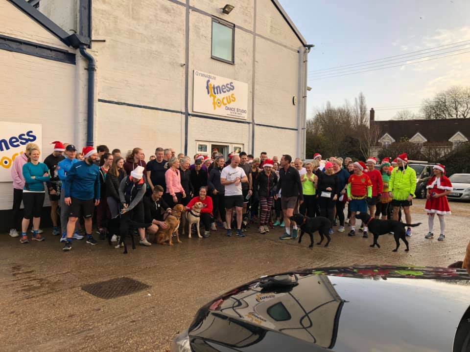 A HUGE thank you to Fitness Focus for organising a Santa Run on Christmas Eve 2019 for Maddi