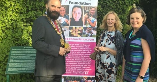 Dame Bradburys school in Saffron Walden arranged a raise awareness day for The Maddi Foundation